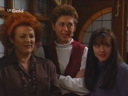 Cheryl Stark, Judy Bergman, Susan Kennedy in Neighbours Episode 2499