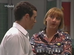 Stonie Rebecchi, Angie Rebecchi in Neighbours Episode 2500