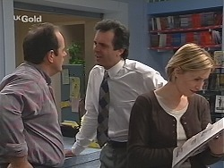 Philip Martin, Karl Kennedy, Jen Handley in Neighbours Episode 2500