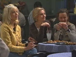 Annalise Hartman, Jen Handley, Cody Willis in Neighbours Episode 2500