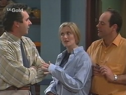 Karl Kennedy, Jen Handley, Philip Martin in Neighbours Episode 2500