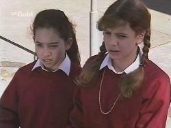 Zoe Tan, Hannah Martin in Neighbours Episode 2501