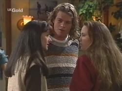 Susan Kennedy, Sonny Hammond, Libby Kennedy in Neighbours Episode 2501