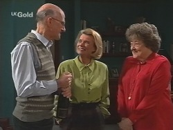Colin Taylor, Helen Daniels, Marlene Kratz in Neighbours Episode 2501