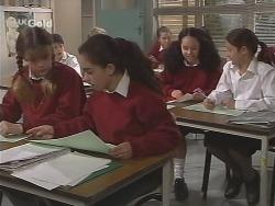 Hannah Martin, Zoe Tan, Phoebe Boyd, Tammy Blyton in Neighbours Episode 2501