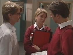 Brett Stark, Danni Stark, Malcolm Kennedy in Neighbours Episode 2501