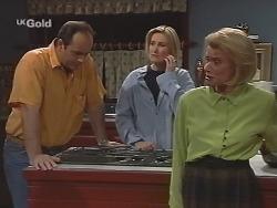 Philip Martin, Jen Handley, Helen Daniels in Neighbours Episode 2502