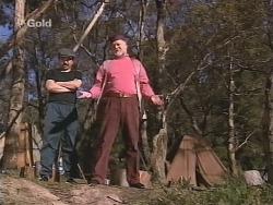 Kingfisher, Running Rivers in Neighbours Episode 2502
