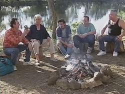 Karl Kennedy, Patrick Kratz, Sam Kratz, Philip Martin, Lou Carpenter in Neighbours Episode 2502