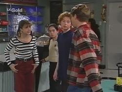 Hannah Martin, Zoe Tan, Brendan Walsh, Lance Wilkinson in Neighbours Episode 2502