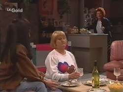 Susan Kennedy, Angie Rebecchi, Cheryl Stark in Neighbours Episode 2502