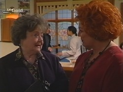 Marlene Kratz, Cheryl Stark in Neighbours Episode 2503