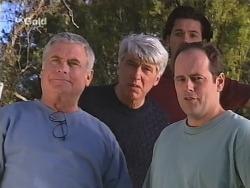 Lou Carpenter, Patrick Kratz, Sam Kratz, Philip Martin in Neighbours Episode 2504