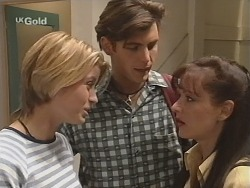 Danni Stark, Malcolm Kennedy, Susan Kennedy in Neighbours Episode 2505