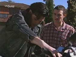 Sam Kratz, Stonie Rebecchi in Neighbours Episode 2506