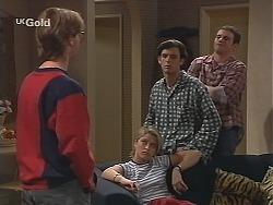 Brett Stark, Danni Stark, Malcolm Kennedy, Stonie Rebecchi in Neighbours Episode 2506