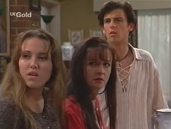 Libby Kennedy, Susan Kennedy, Malcolm Kennedy in Neighbours Episode 2506
