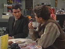 Marty Hackman, Mark Gottlieb in Neighbours Episode 2507