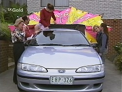 Helen Daniels, Philip Martin, Hannah Martin, Jen Handley, Cody Willis in Neighbours Episode 2508