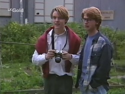 Billy Kennedy, Brett Stark in Neighbours Episode 2509