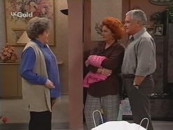 Marlene Kratz, Cheryl Stark, Lou Carpenter in Neighbours Episode 2509