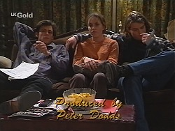 Malcolm Kennedy, Libby Kennedy, Sonny Hammond in Neighbours Episode 2510