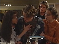 Susan Kennedy, Billy Kennedy, Sonny Hammond, Libby Kennedy in Neighbours Episode 2510