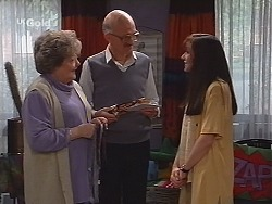 Marlene Kratz, Colin Taylor, Susan Kennedy in Neighbours Episode 2510