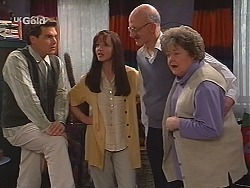 Mark Gottlieb, Susan Kennedy, Colin Taylor, Marlene Kratz in Neighbours Episode 2510