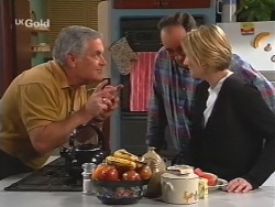 Lou Carpenter, Philip Martin, Jen Handley in Neighbours Episode 2510