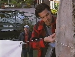 Patrick Kratz, Sam Kratz in Neighbours Episode 2512