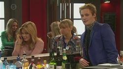 Natasha Williams, Georgia Brooks, Andrew Robinson in Neighbours Episode 6526