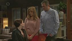 Summer Hoyland, Natasha Williams, Karl Kennedy in Neighbours Episode 6526