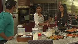 Ajay Kapoor, Priya Kapoor, Rani Kapoor in Neighbours Episode 6527