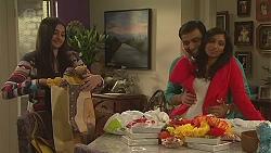 Rani Kapoor, Ajay Kapoor, Priya Kapoor in Neighbours Episode 6527