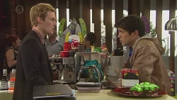 Andrew Robinson, Aidan Foster in Neighbours Episode 6527