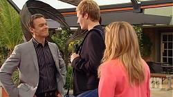 Paul Robinson, Andrew Robinson, Natasha Williams in Neighbours Episode 6528