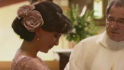 Vanessa Villante, Father Vincent Guidotti in Neighbours Episode 6532