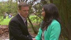 Paul Robinson, Priya Kapoor in Neighbours Episode 6534