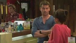 Rhys Lawson, Lucas Fitzgerald, Vanessa Villante in Neighbours Episode 6536