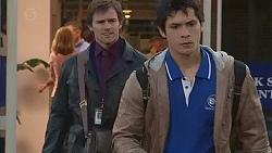 Rhys Lawson, Aidan Foster in Neighbours Episode 6538