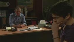 Karl Kennedy, Aidan Foster in Neighbours Episode 6538