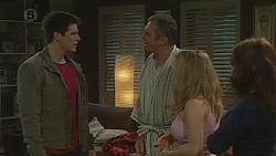 Chris Pappas, Karl Kennedy, Natasha Williams, Summer Hoyland in Neighbours Episode 6538