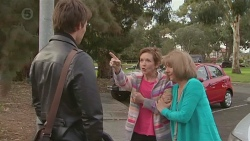 Rhys Lawson, Susan Kennedy, Carmel Tyler in Neighbours Episode 6539