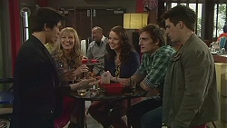 Aidan Foster, Georgia Brooks, Kate Ramsay, Kyle Canning, Chris Pappas in Neighbours Episode 6539