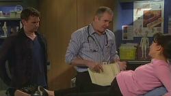 Lucas Fitzgerald, Karl Kennedy, Vanessa Villante in Neighbours Episode 6541