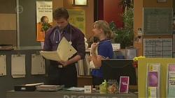Rhys Lawson, Georgia Brooks in Neighbours Episode 6541