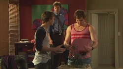 Harley Canning, Rhys Lawson, Kyle Canning in Neighbours Episode 6543