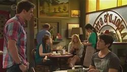 Chris Pappas, Aidan Foster in Neighbours Episode 6543