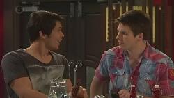 Aidan Foster, Chris Pappas in Neighbours Episode 6543